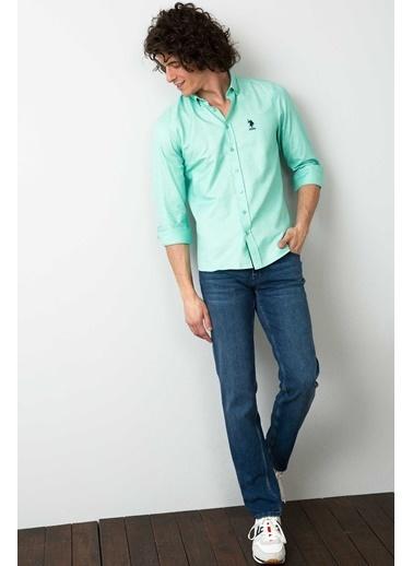 U.S.Polo Assn. Gömlek Yeşil
